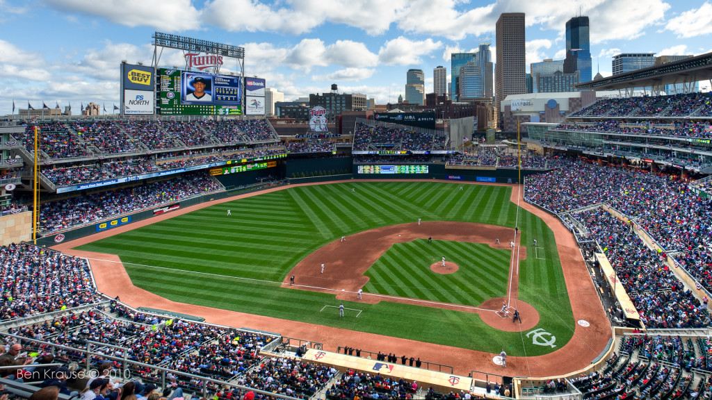 Target Field - places to visit in minneapolis