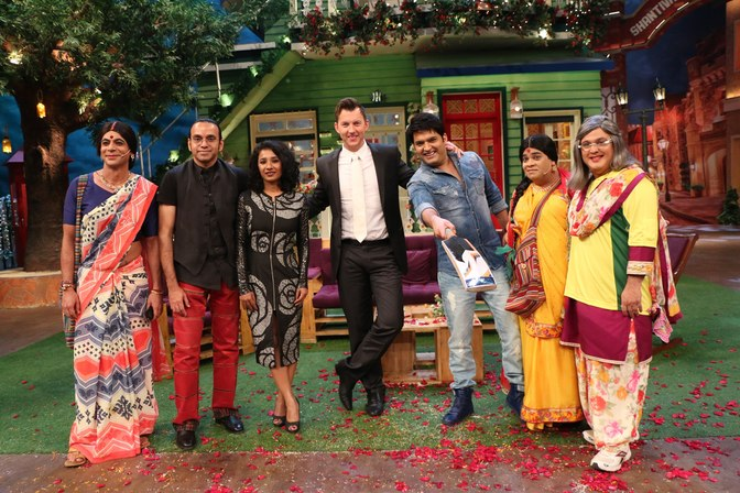 Brett Lee: The Kapil Sharma Show