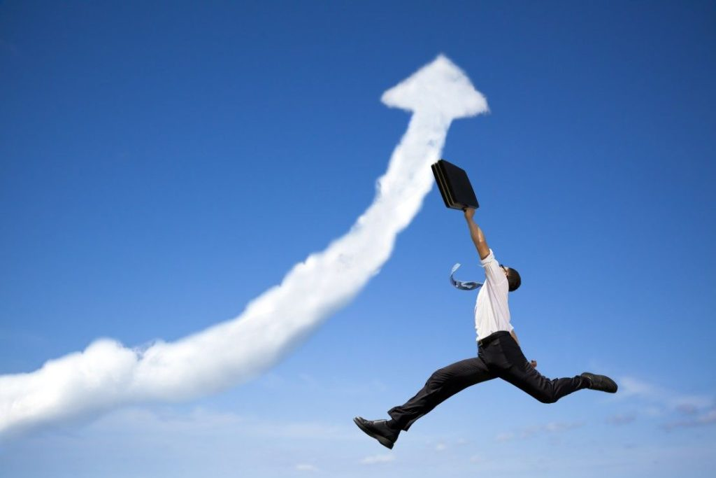 achieve goals with business plan