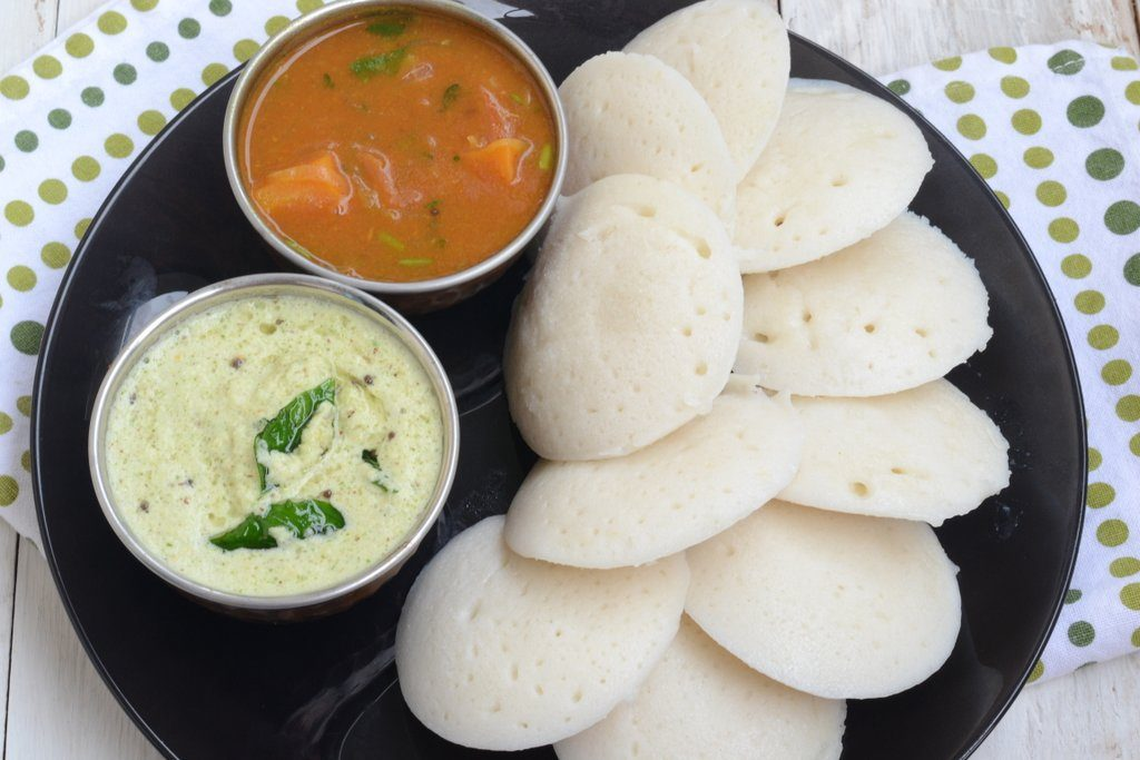 Idli Sambhar south indian food