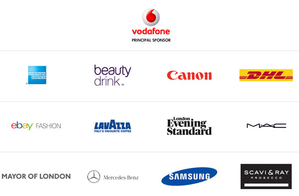 London Fashion Week sponsors