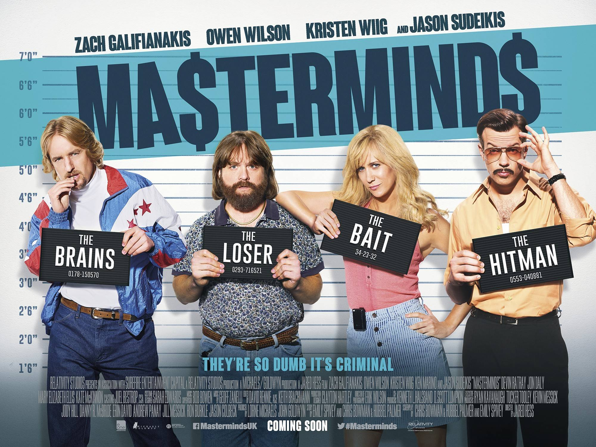 masterminds 2016: movie review