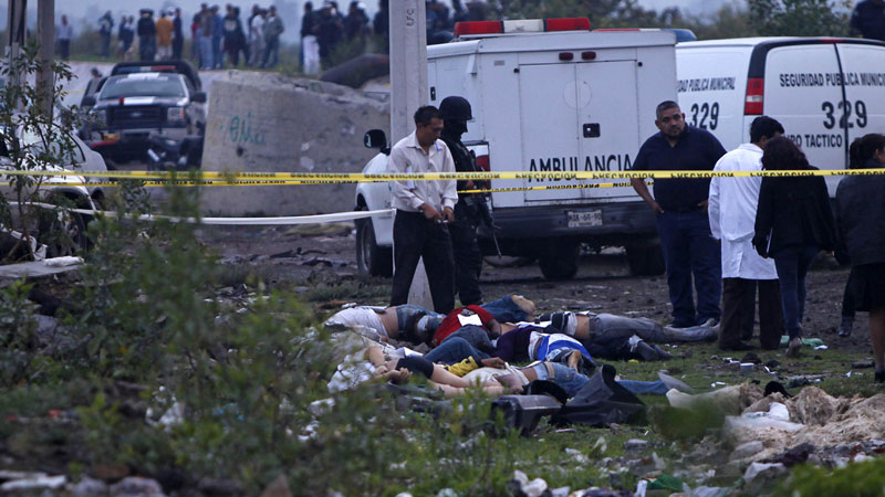 dead bodies in Mexico