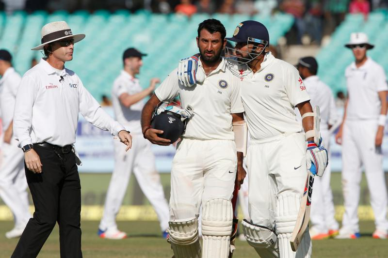 India v/s. England, Rajkot Test Match